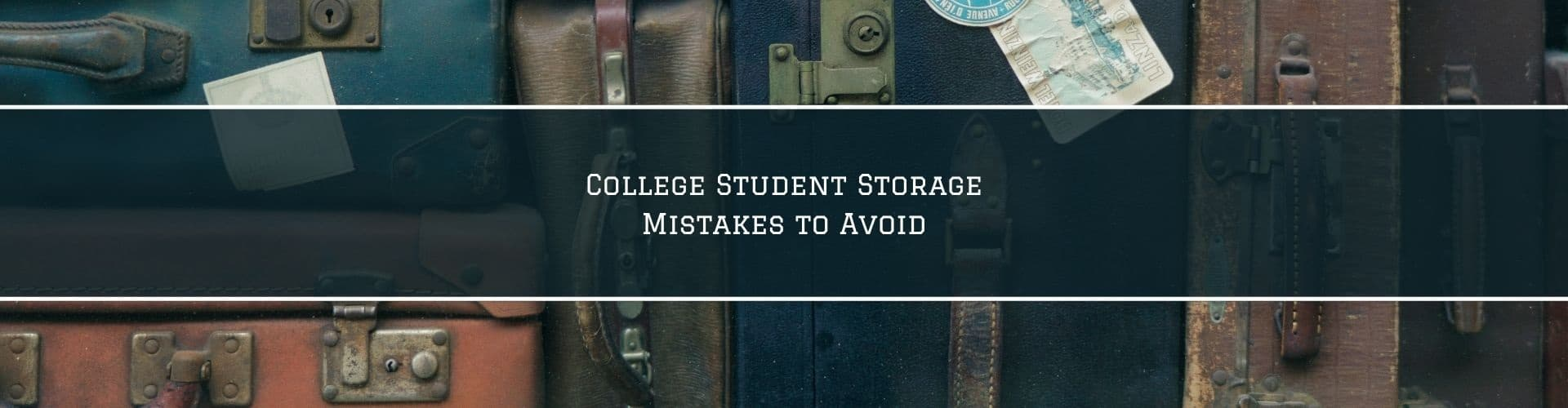 common college storage mistakes